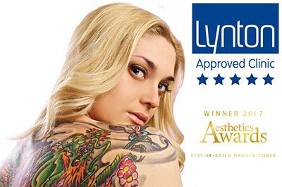 Lynton cover girl Laser Tattoo Removal London and Hertfordshire