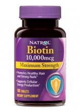 биотин Natrol 10000 мкг, 100таб.
