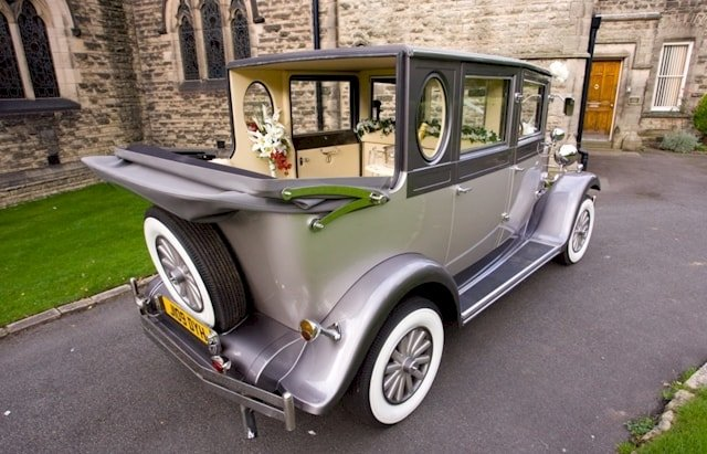 Rear view of Imperial Limousine