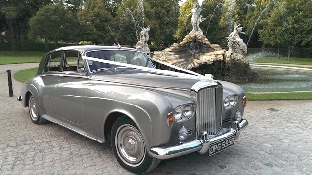 Bentley S3 at Cliveden near Taplow