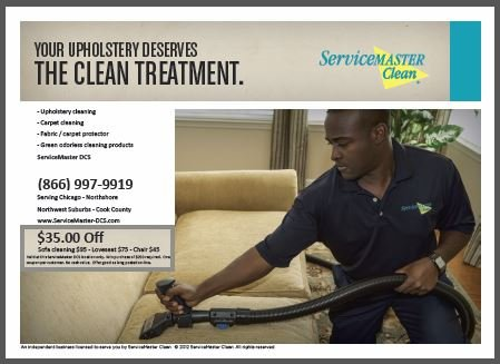 $35.00 off upholstery cleaning