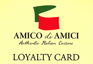 Amico Di Amici Loyalty Card