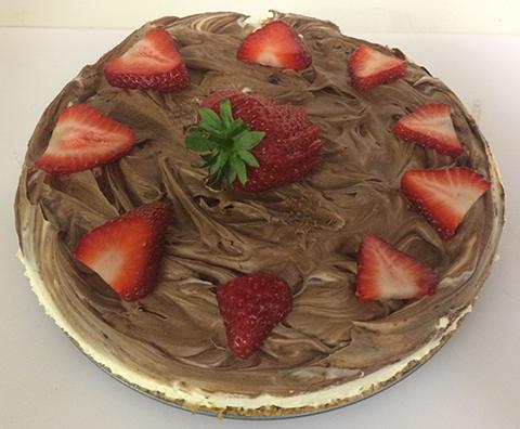 Georgia Lang's Chocolate Cheesecake