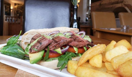 Red Lion Steak Sandwich