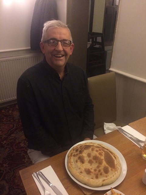 David Bristow Calzone Winner