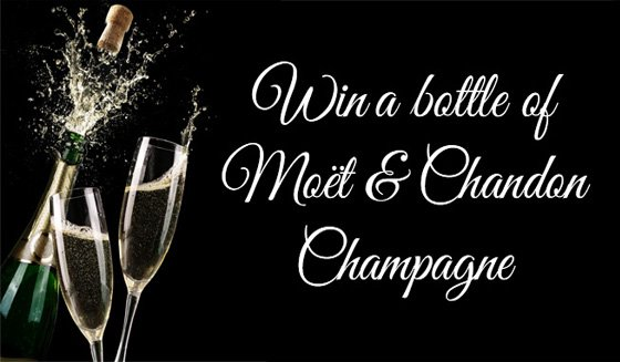 Win a bottle of champagne