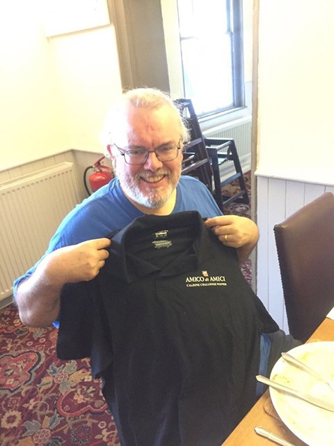 Peter Melrose Calzone T Shirt